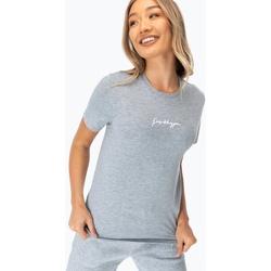 textil Mujer Camisetas manga corta Hype  Gris