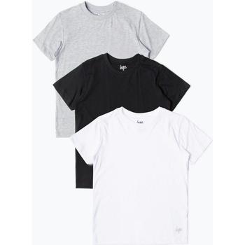 textil Niños Camisetas manga corta Hype  Negro