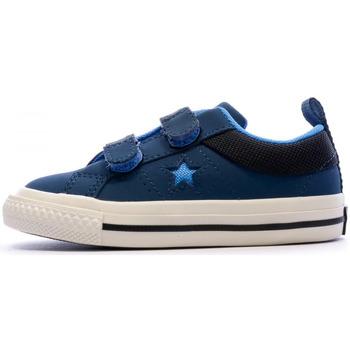 Zapatos Niños Zapatillas bajas Converse  Azul