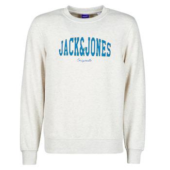 textil Hombre Sudaderas Jack & Jones JORHART Blanco