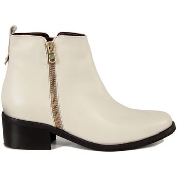 Zapatos Mujer Botas de caña baja Fashion Attitude  Bianco