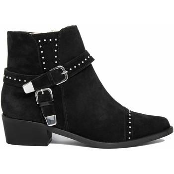 Zapatos Mujer Botas de caña baja Fashion Attitude  Nero