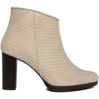 Zapatos Mujer Botas de caña baja Fashion Attitude  Beige
