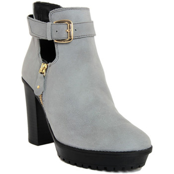 Zapatos Mujer Botines Fashion Attitude  Grigio