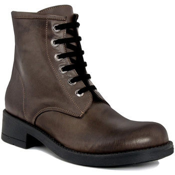 Zapatos Mujer Botas de caña baja Fashion Attitude  Marrone