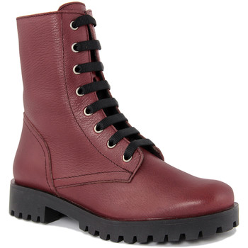 Zapatos Mujer Botas de caña baja Fashion Attitude  Rosso