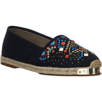 Zapatos Mujer Alpargatas Giuseppe Zanotti E66084 NAVY beige