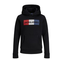 textil Niño Sudaderas Jack & Jones JJECORP LOGO PLAY SWEAT Negro
