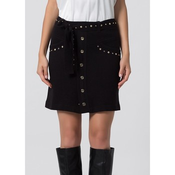 textil Mujer Faldas Kocca Falda PLYN Negro