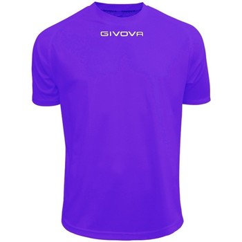 textil Hombre Camisetas manga corta Givova One Violeta