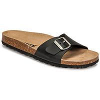 Zapatos Mujer Zuecos (Mules) So Size OLOHA Negro