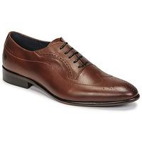Zapatos Hombre Richelieu Carlington OULIO Cognac