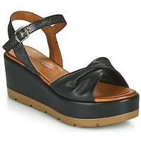 Zapatos Mujer Sandalias Café Noir HOLISTA Negro