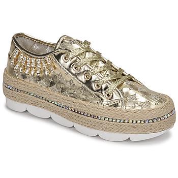 Zapatos Mujer Zapatillas bajas Café Noir KINITA Oro
