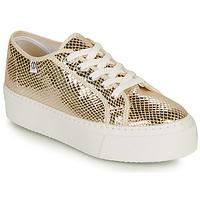 Zapatos Mujer Zapatillas bajas Yurban SUPERTELA Oro