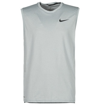textil Hombre Camisetas sin mangas Nike NIKE PRO DF HPR DRY TOP TANK Gris / Negro