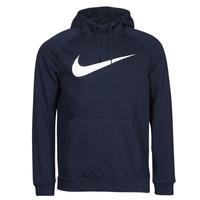 textil Hombre Sudaderas Nike DF HDIE PO SWSH Azul / Blanco
