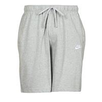 textil Hombre Shorts / Bermudas Nike NSCLUB JGGR JSY Gris / Blanco
