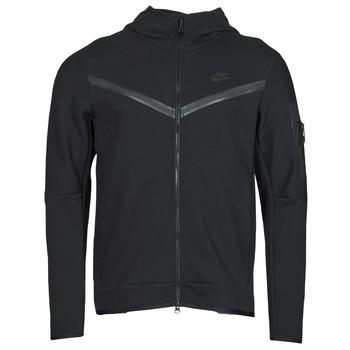 textil Hombre Chaquetas de deporte Nike NSTCH FLC HOODIE FZ WR Negro