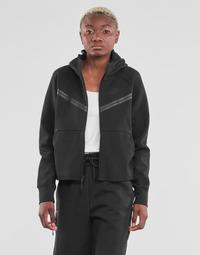 textil Mujer Chaquetas de deporte Nike NSTCH FLC WR ESSNTL FZ HDY Negro