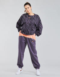 textil Mujer Pantalones de chándal Nike NSICN CLSH JOGGER MIX HR Violeta / Rosa