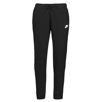 textil Mujer Pantalones de chándal Nike NSMLNESSNTL FLC MR JGGR Negro / Blanco