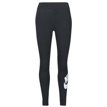 textil Mujer Leggings Nike NSESSNTL GX HR LGGNG FTRA Negro / Blanco