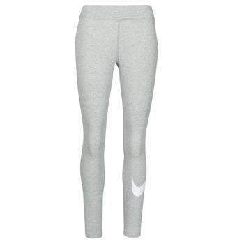 textil Mujer Leggings Nike NSESSNTL GX MR LGGNG SWSH Gris / Blanco