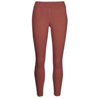textil Mujer Leggings Nike NSESSNTL 7/8 MR LGGNG Marrón / Blanco