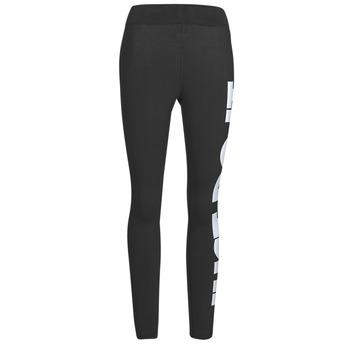 textil Mujer Leggings Nike NSESSNTL GX HR LGGNG JDI Negro / Blanco
