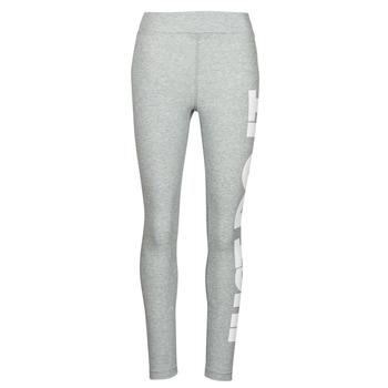 textil Mujer Leggings Nike NSESSNTL GX HR LGGNG JDI Gris / Blanco