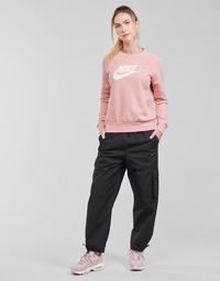 textil Mujer Pantalones de chándal Nike NSICN CLASH PANT CANVAS HR Negro / Gris