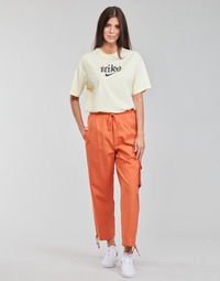 textil Mujer Pantalones de chándal Nike NSICN CLASH PANT CANVAS HR Marrón / Naranja