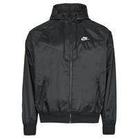textil Hombre Cortaviento Nike NSSPE WVN LND WR HD JKT Negro / Blanco