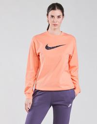 textil Mujer Camisetas manga larga Nike NSICN CLSH LS TOP HBR Rosa / Violeta