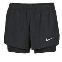 textil Mujer Shorts / Bermudas Nike 10K 2IN1 SHORT Negro