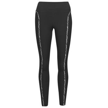 textil Mujer Leggings Nike NIKE ONE LUXE ICNCLSH TGT Negro / Violeta