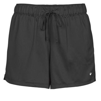 textil Mujer Shorts / Bermudas Nike DF ATTACK SHRT Negro / Blanco