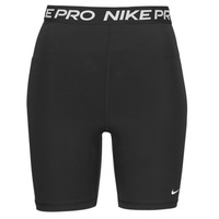 textil Mujer Shorts / Bermudas Nike NIKE PRO 365 SHORT 7IN HI RISE Negro / Blanco