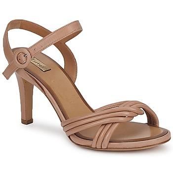 Zapatos Mujer Sandalias Eva Turner  Marrón / Helado