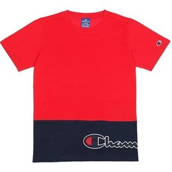 textil Niños Camisetas manga corta Champion Camiseta  cuello caja niño