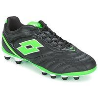 Zapatos Hombre Fútbol Lotto STADIO P VI 300 FG Negro / Verde
