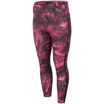 textil Mujer Pantalones 4F SPDF010 Rojo burdeos