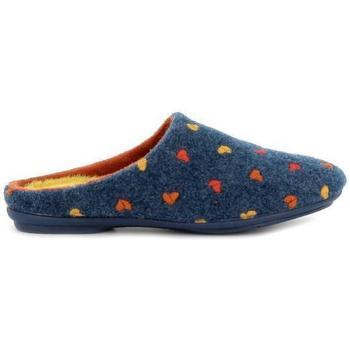 Zapatos Mujer Pantuflas Garzon 5500.483 Azul