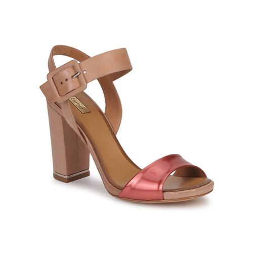Zapatos Mujer Sandalias Eva Turner  Bronce / Rojo