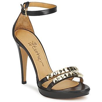 Zapatos Mujer Sandalias Eva Turner  Negro