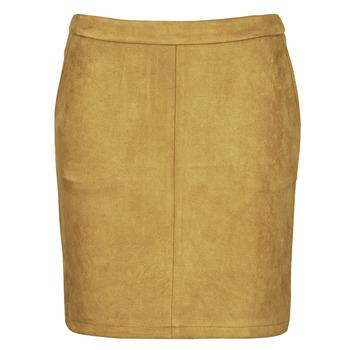 textil Mujer Faldas Vila VIFADDY Cognac