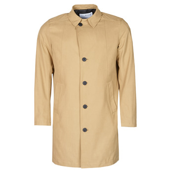 textil Hombre Abrigos Selected SLHNEW TIMES Beige