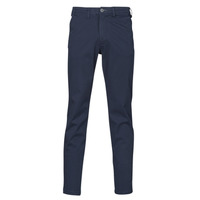 textil Hombre Pantalones chinos Selected SLHSLIM-MILES FLEX Marino