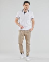 textil Hombre Pantalones chinos Selected SLHSLIM-MILES FLEX Beige
